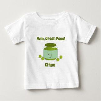 Yumグリーンピース|のベビーのTシャツ ベビーTシャツ
