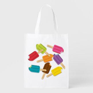 Yum! アイスキャンデーの再使用可能な買い物袋 エコバッグ