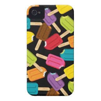 Yum! アイスキャンデーのiPhoneの場合(黒) Case-Mate iPhone 4 ケース