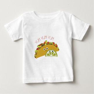 Yum Yumタコス ベビーTシャツ