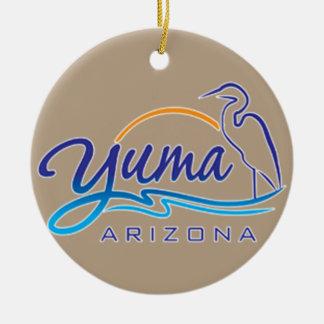 Yuma、アリゾナ セラミックオーナメント