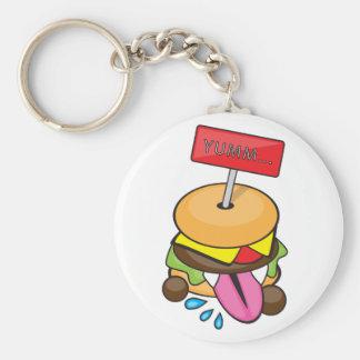 YummのハンバーガーKeychain キーホルダー