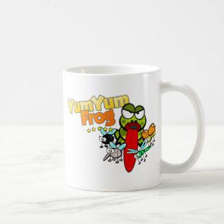 YumYumのカエル コーヒーマグカップ