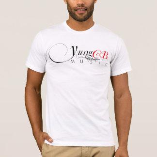 YungのCB音楽紳士のTシャツ Tシャツ