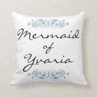 Yvariaの枕-青の人魚 クッション