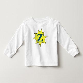 Zの日が差すことのモチーフ トドラーTシャツ