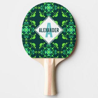 Zの春の穀物の円超常的なUFOの芸術のカスタム 卓球ラケット
