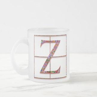 """Zの""""ケルト族の煉瓦""""カスタムなモノグラムのマグ フロストグラスマグカップ"""