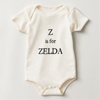 ZはZeldaのためです ベビーボディスーツ