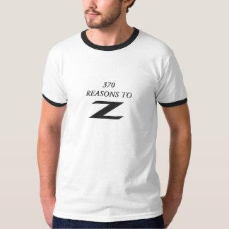 Zへの370の理由 Tシャツ
