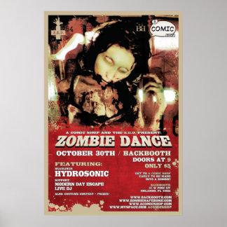 Z.E.D. ゾンビのダンス ポスター