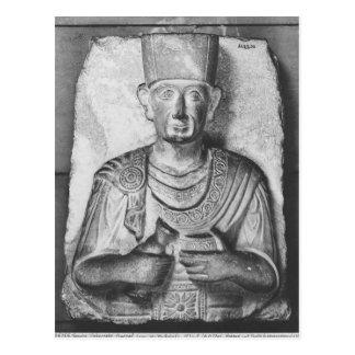 Zabdaleの葬式のレリーフ、浮き彫り、パルミラ遺跡から、シリア ポストカード