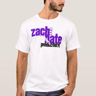 ZachおよびNateの生産のTシャツ Tシャツ