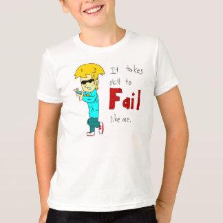 Zachのように失敗 Tシャツ