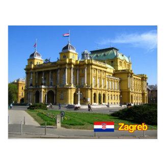 Zagreb Croatia ポストカード