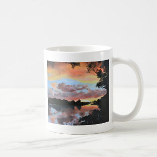 Zambezi川の反射 コーヒーマグカップ