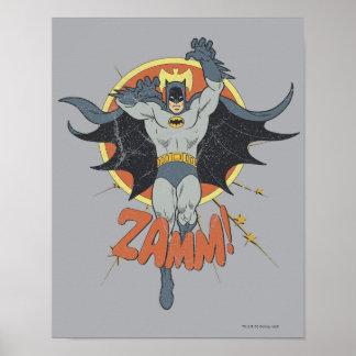 ZAMMのバットマンのグラフィック ポスター