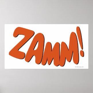 ZAMM! ポスター
