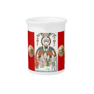 Zao 6月の中国のな台所神の水差し ピッチャー