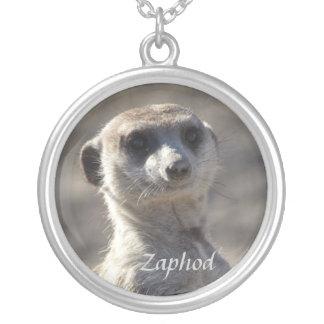 Zaphodのネックレス シルバープレートネックレス