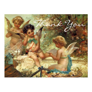 Zatzkaの3つの天使 ポストカード