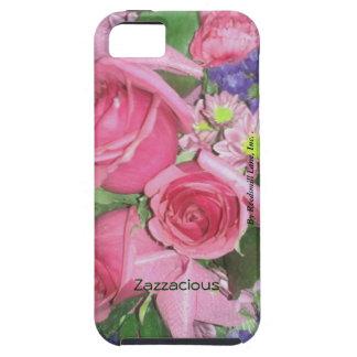 Zazzaciousの花のiphone 5 iPhone SE/5/5s ケース