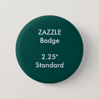 """ZAZZLEのカスタムは2.25""""を標準的な円形のバッジ印刷しました 缶バッジ"""