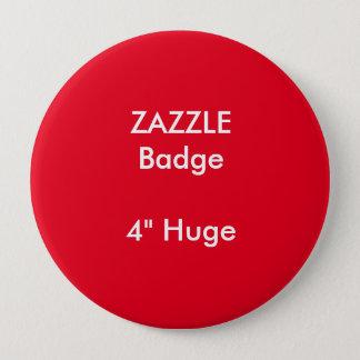 ZAZZLEのカスタムは4つを巨大な円形のバッジの赤印刷しました 缶バッジ