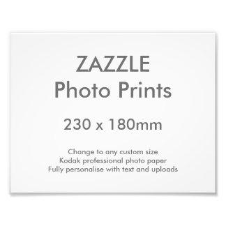 Zazzleのカスタム230 x 180のmmの写真のプリント23 x 18 cm フォトプリント