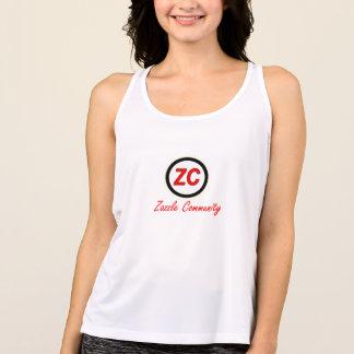 Zazzleのコミュニティ タンクトップ