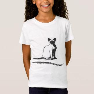 zazzleのシャム猫design.ai tシャツ