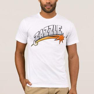 Zazzleのロゴ(漫画のスタイル) Tシャツ