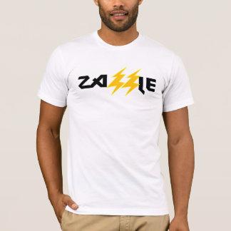 Zazzleの石の稲妻の白のティー Tシャツ