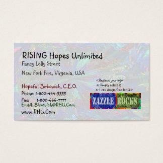 ZAZZLEの石- Naveen著きらめくな星 名刺