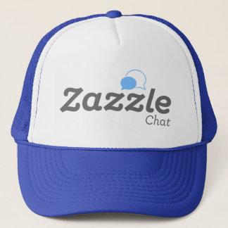 zazzleの雑談の帽子 キャップ