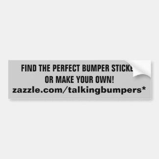 "Zazzleの""""バンパーステッカーの店 バンパーステッカー"