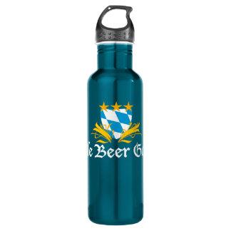 Zazzleビール庭 ウォーターボトル