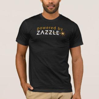 Zazzle 2のTシャツによって動力を与えられる Tシャツ