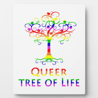 Zazzle.png変な生命の樹 フォトプラーク