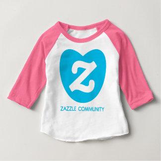 zazzlecommunityのtshirkids ベビーTシャツ