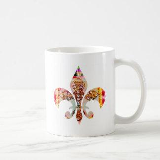 ZazzleRocks: アヤメシリーズ コーヒーマグカップ