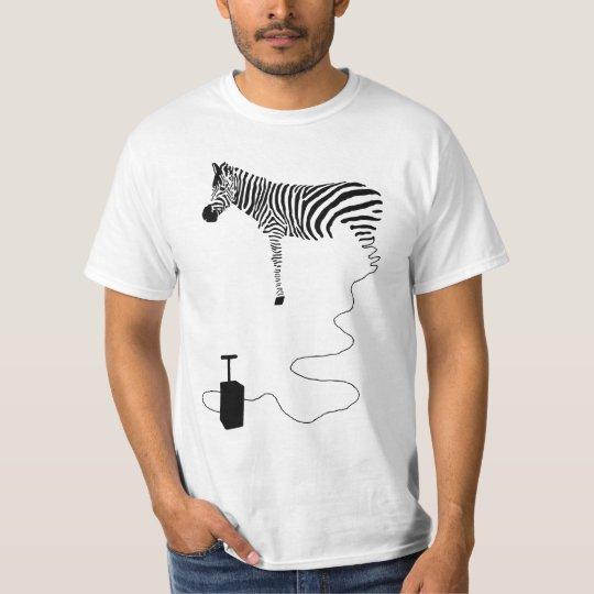zebra tシャツ