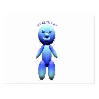 ZEEの青 ポストカード