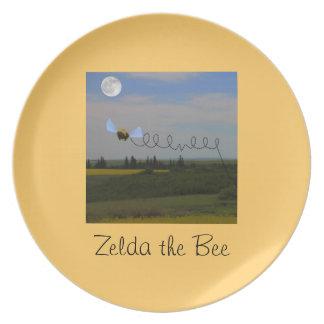 Zeldaのメラミンプレート ディナー皿