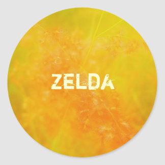 Zelda ラウンドシール
