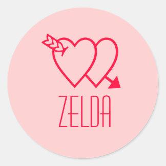 Zelda 丸形シール・ステッカー