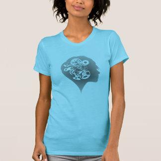 Zelda Pryce: 時計仕掛けの女の子のグラフィックのTシャツ Tシャツ