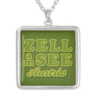 Zell AMはネックレスを見ます シルバープレートネックレス