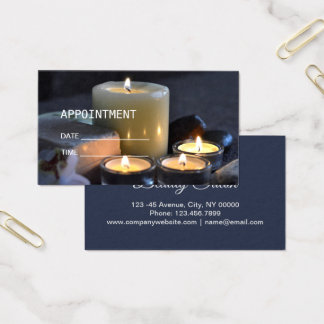 Zen Aromatherapy SPA Massage therapy Appointment 名刺