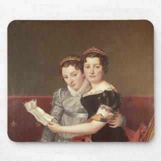 ZenaideおよびシャーロットBonaparte 1822年 マウスパッド